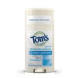 Detoxify your underarms and subsequently stop using aluminum-based antiperspirant in Breast Health Prevention - Tom's Deoderant
