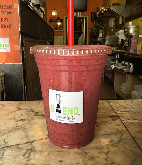 Hudson Valley Healthy Restaurants - Blend Smoothie and Salad Barn - Hudson Valley Thermographer