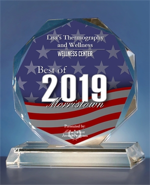 Morristown Award Program | Lisa's Thermography and Wellness | New Jersey